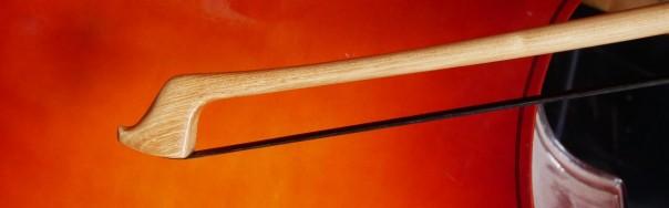 Acacia double bass bow